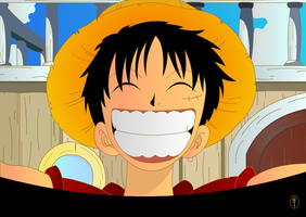 Luffy One piece by Yoriuchi