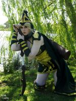 Sherwood Forest Ashe 2- League Of legends  Cosplay by AnneTSeptik