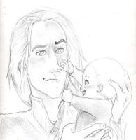 Papa Malfoy, Hp by AmberPalette