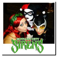 Gotham City Sirens by AngelLiriel