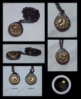 Clock Pendants by ACrowsCollection