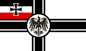Kaiserreich Flag #4: German Empire by AlternateHistory