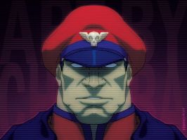 the Shadaloo Dictator by theCHAMBA