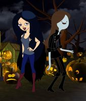 Halloween: Marceline N Vanessa by TheEdMinistrator765
