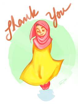 Thank You by hbeyza