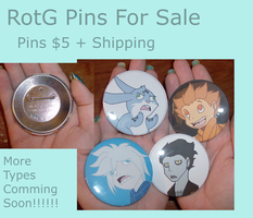 RotG Button Sale by Ask-RotG