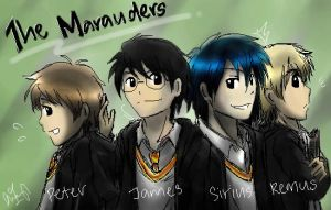 The Marauders by cherlye