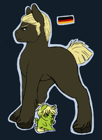 Germany pony by ArthurISmelting