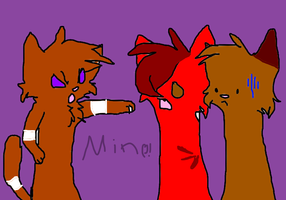 MINE by The-she-kitty-trio
