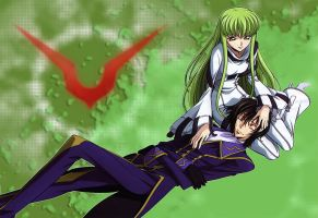 CC AND Lelouch Code Geas V2 by 6DED9