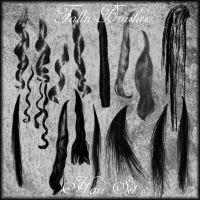 Hair Brushes Set 1 by Falln-Brushes