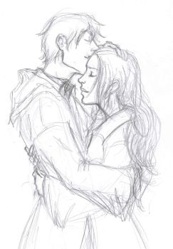 Remus and Kriss_sketch by jolly2