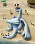 Beached Lugia by Kuurion