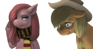Pony Renderings by kevinsano