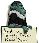Swearing In The New Year by Heavenbat