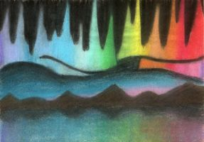 Northern Lights by Evangilyna