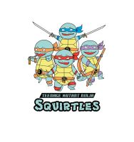 Teenage Mutant Ninja Squirtles by RougeLeaderRed