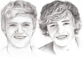 Liam and Niall :) by RomcaS
