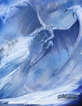 Frost Dragon by BABAGANOOSH99