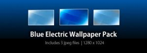 Blue Electric Wallpaper Pack by sword1ne