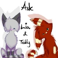 Ask us! by ToonieCheckers