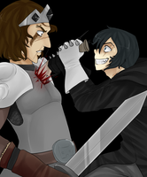 Warriors humanisation 3: Tigerstar's death by ninetail-fox