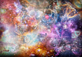Nebula explosion HDR by StArL0rd84