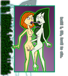 Ann Possible and Shego Conjoinment Fusion by LittleGreenGamer