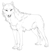generic wolf base by lambsbread