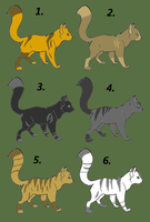 Cat adopts(presets?) 2 by CenturiesForGlory