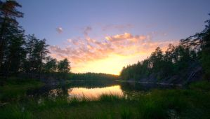 Nuuksio sunset by Jc428
