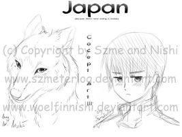 APH WN Japan Sketch Concept by WoelfinNishi