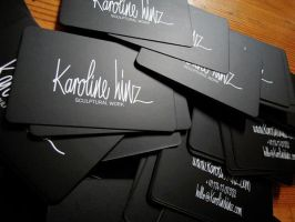 Business Cards by blackpanda