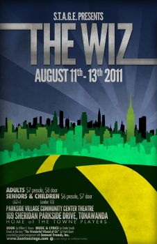 The Wiz Poster by ediskrad-studios