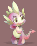 Spike the Dragon by ChocoChaoFun