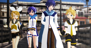_MMD_ Going on a double date by xXHIMRXx
