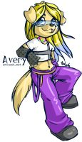 Comission - Avery by littledigits