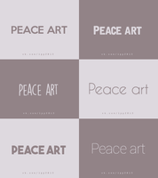 Font pack peace art by ByEny