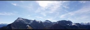 Berchtesgaden Alps Panorama by deaconfrost78