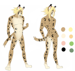 Adoptable lynx 2 by Line-arts