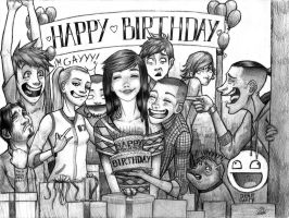 Happy b-day :D(DERP PARTY) by Pablo666123