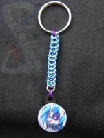 Vinyl Scratch Keychain by Wrenkit