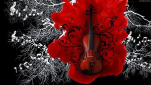 Red Violin by StarwaltDesign