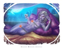 Queen Azshara NSFW preview by krysdecker