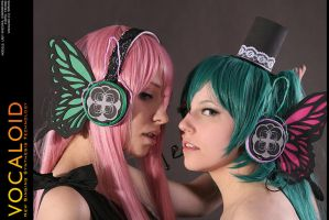 Vocaloid-Magnet: Butterflies by wtfproductionsskits