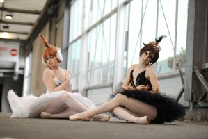 Princess Kraehe (Black Swan outfit)/ Princess Tutu by YukiChanRevolution