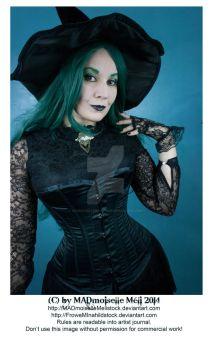 Halloween Gothic Witch Stock 003 by MADmoiselleMeliStock
