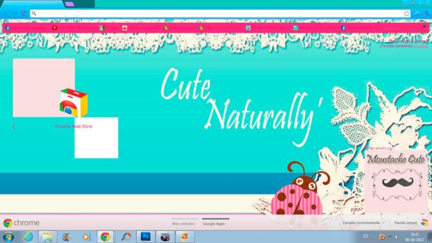 Theme Google Chrome Cute Naturally by pazitha