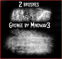 2 Goth Brushes by MindWav3