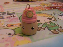 Cute Polymer Clay Cupcake by Pastel-x-Stars